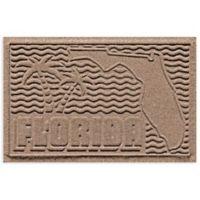 Weather Guard™ Florida 2-Foot x 3-Foot Door Mat in Medium Brown