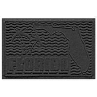 Weather Guard™ Florida 2-Foot x 3-Foot Door Mat in Charcoal