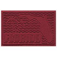 Weather Guard™ Florida 2-Foot x 3-Foot Door Mat in Red/Black