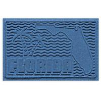 Weather Guard™ Florida 2-Foot x 3-Foot Door Mat in Medium Blue