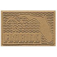 Weather Guard™ Florida 2-Foot x 3-Foot Door Mat in Gold