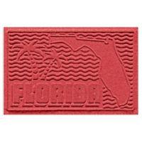 Weather Guard™ Florida 2-Foot x 3-Foot Door Mat in Solid Red