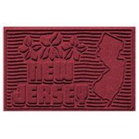 Weather Guard™ New Jersey 2-Foot x 3-Foot Door Mat in Red/Black