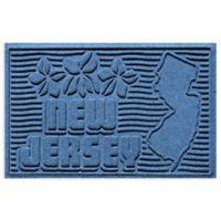 Weather Guard™ New Jersey 2-Foot x 3-Foot Door Mat in Medium Blue