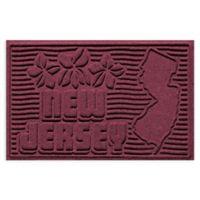 Weather Guard™ New Jersey 2-Foot x 3-Foot Door Mat in Bordeaux