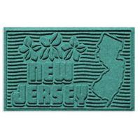 Weather Guard™ New Jersey 2-Foot x 3-Foot Door Mat in Aquamarine
