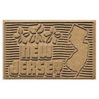 Weather Guard™ New Jersey 2-Foot x 3-Foot Door Mat in Gold
