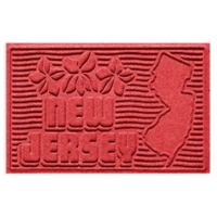 Weather Guard™ New Jersey 2-Foot x 3-Foot Door Mat in Solid Red
