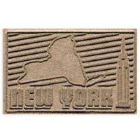 Weather Guard™ New York 2-Foot x 3-Foot Door Mat in Camel