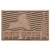 Weather Guard™ New York 2-Foot x 3-Foot Door Mat in Medium Brown