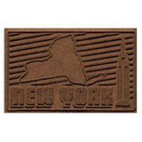Weather Guard™ New York 2-Foot x 3-Foot Door Mat in Dark Brown