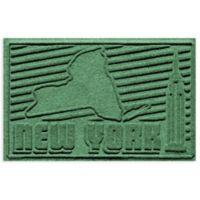 Weather Guard™ New York 2-Foot x 3-Foot Door Mat in Light Green