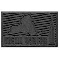 Weather Guard™ New York 2-Foot x 3-Foot Door Mat in Charcoal
