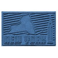Weather Guard™ New York 2-Foot x 3-Foot Door Mat in Medium Blue