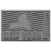 Weather Guard™ New York 2-Foot x 3-Foot Door Mat in Grey