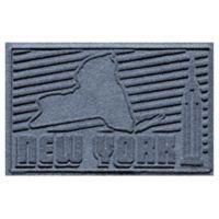 Weather Guard™ New York 2-Foot x 3-Foot Door Mat in Blue Stone