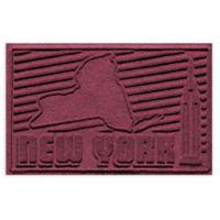 Weather Guard™ New York 2-Foot x 3-Foot Door Mat in Bordeaux