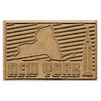Weather Guard™ New York 2-Foot x 3-Foot Door Mat in Gold