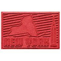 Weather Guard™ New York 2-Foot x 3-Foot Door Mat in Solid Red