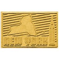 Weather Guard™ New York 2-Foot x 3-Foot Door Mat in Yellow