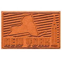 Weather Guard™ New York 2-Foot x 3-Foot Door Mat in Orange
