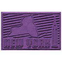 Weather Guard™ New York 2-Foot x 3-Foot Door Mat in Purple