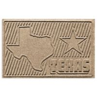 Weather Guard™ Texas 2-Foot x 3-Foot Door Mat in Camel