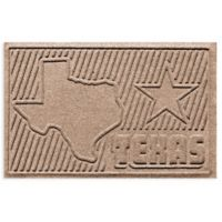 Weather Guard™ Texas 2-Foot x 3-Foot Door Mat in Medium Brown