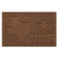 Weather Guard™ Texas 2-Foot x 3-Foot Door Mat in Dark Brown