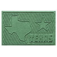 Weather Guard™ Texas 2-Foot x 3-Foot Door Mat in Light Green