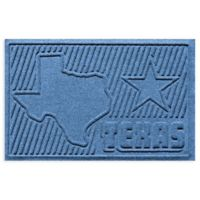 Weather Guard™ Texas 2-Foot x 3-Foot Door Mat in Medium Blue