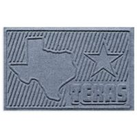 Weather Guard™ Texas 2-Foot x 3-Foot Door Mat in Blue Stone