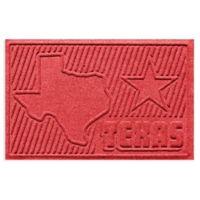 Weather Guard™ Texas 2-Foot x 3-Foot Door Mat in Solid Red