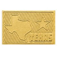 Weather Guard™ Texas 2-Foot x 3-Foot Door Mat in Yellow