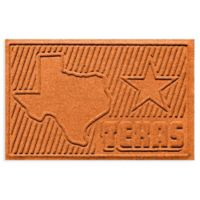Weather Guard™ Texas 2-Foot x 3-Foot Door Mat in Orange