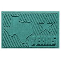 Weather Guard™ Texas 2-Foot x 3-Foot Door Mat in Aquamarine