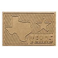 Weather Guard™ Texas 2-Foot x 3-Foot Door Mat in Gold