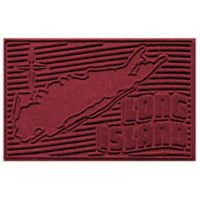 Weather Guard™ Long Island 2-Foot x 3-Foot Door Mat in Red/Black