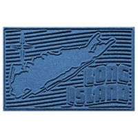 Weather Guard™ Long Island 2-Foot x 3-Foot Door Mat in Medium Blue