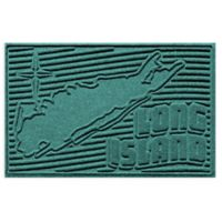 Weather Guard™ Long Island 2-Foot x 3-Foot Door Mat in Aquamarine