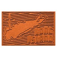 Weather Guard™ Long Island 2-Foot x 3-Foot Door Mat in Orange