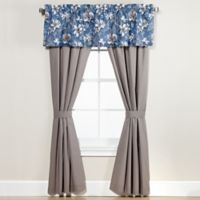 Anguilla 84-Inch Window Curtain Panel Pair in Blue