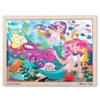 Melissa & Doug® Mermaid Fantasea Wooden 48-Piece Jigsaw Puzzle