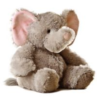 Aurora 12-Inch Plush Tubbie Wubbie Elephant in Grey