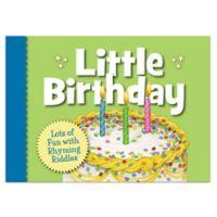 Little Birthday Board Book by Sleeping Bear Press