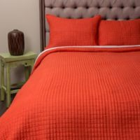 Amity Home Richard Queen Quilt in Orange