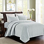 Samantha Full/Queen Quilt Set in Blue