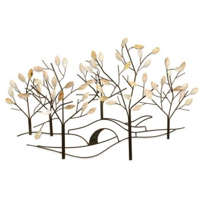Where Can I Buy Metal Wall Art Gorgeous Buy Bronze Metal Wall Art From Bed Bath & Beyond Decorating Inspiration