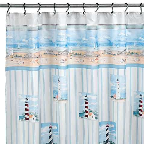 Lighthouse Shower Curtain By Saturday Knight Limited