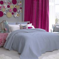bluebellgray® Fern Solid Full/Queen Coverlet in Arctic Ice